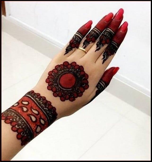 Special Mehndi Design For  Wedding