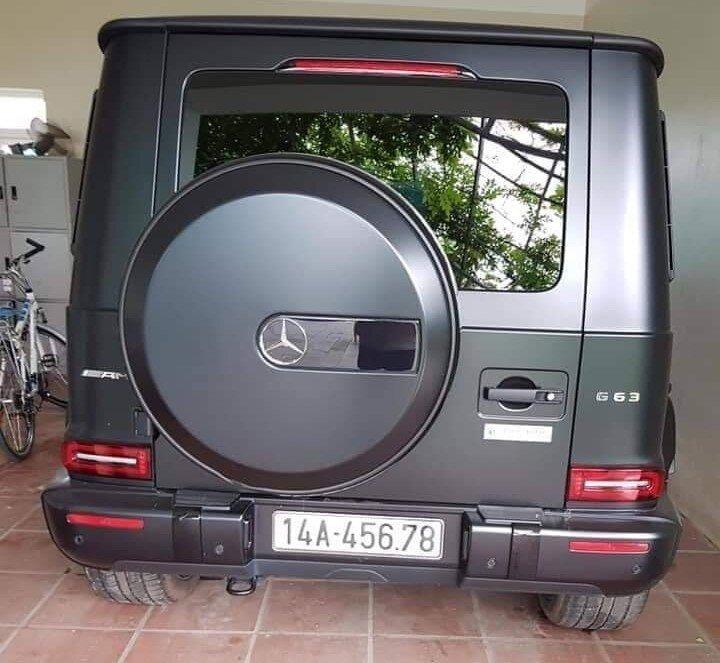 Đại gia Quảng Ninh sở hữu xe siêu sang Mercedes-AMG G63 biển khủng