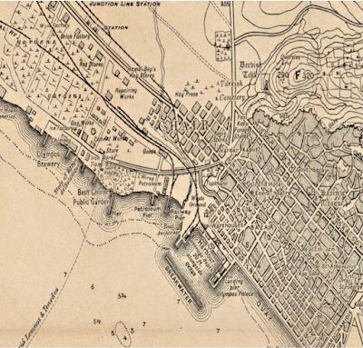 Vecchia mappa Salonicco