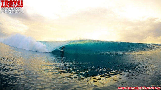 Desert Point Bangko-Bangko Beach in Lombok Island