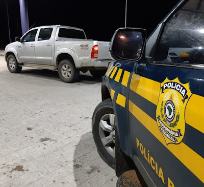 Em Inhapi/AL, PRF prende  homem com veículo roubada em SE