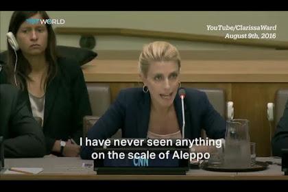 INILAH Kesaksian Wartawati CNN di Dewan Keamanan PBB: TIDAK ADA YANG LEBIH MENGERIKAN DARIPADA ALEPPO!