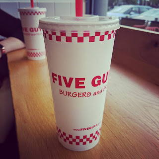 Five Guys Refill Cups