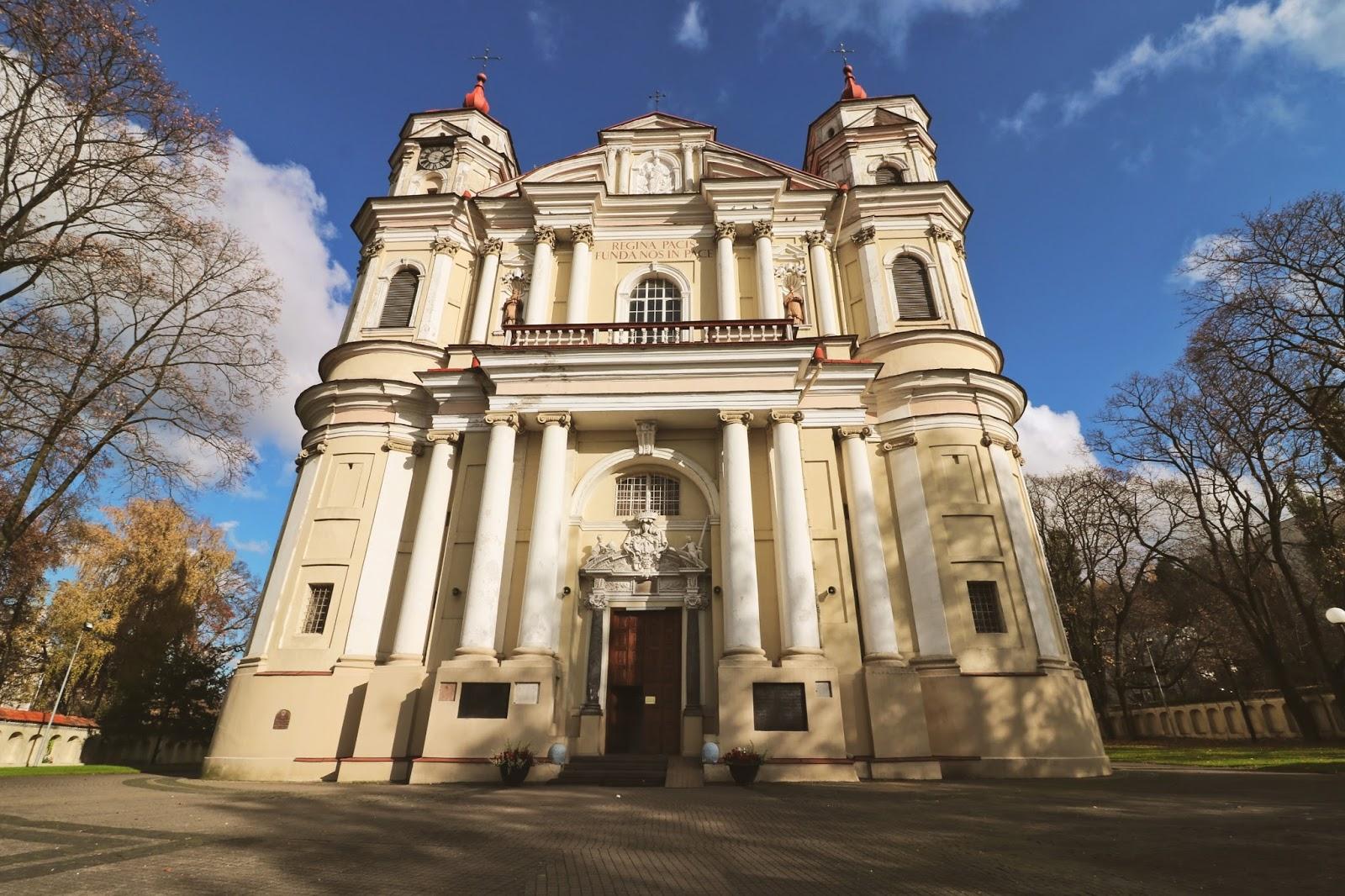 litwa, wilno, kościoły w wilnie