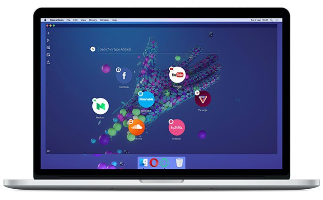 Opera Neon Concept Browser launched for Windows and Mac Devices