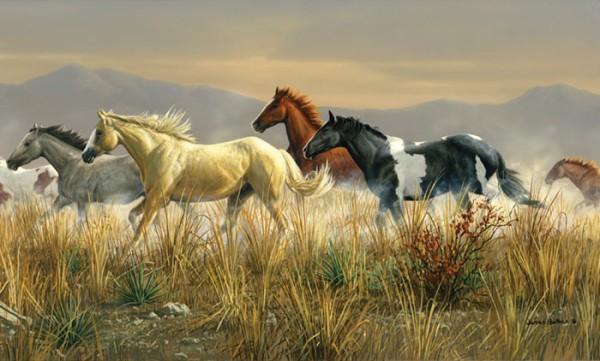 Horse Wall Murals Wallpaper