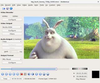 Avidemux aplikasi editing video gratis untuk laptop atau komputer