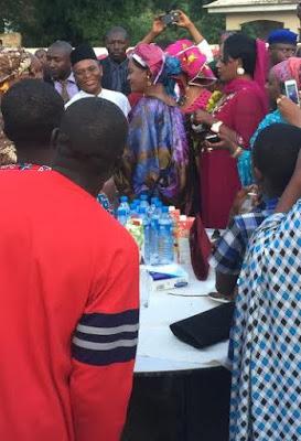 el rufai 3rd wife party