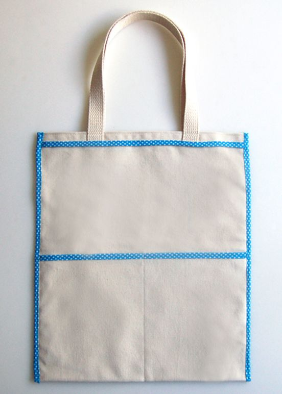 Inside Out Tote Bag Tutorial & Pattern