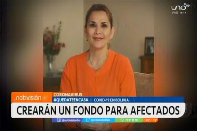 Presidenta Áñez anuncia que donará parte de su sueldo