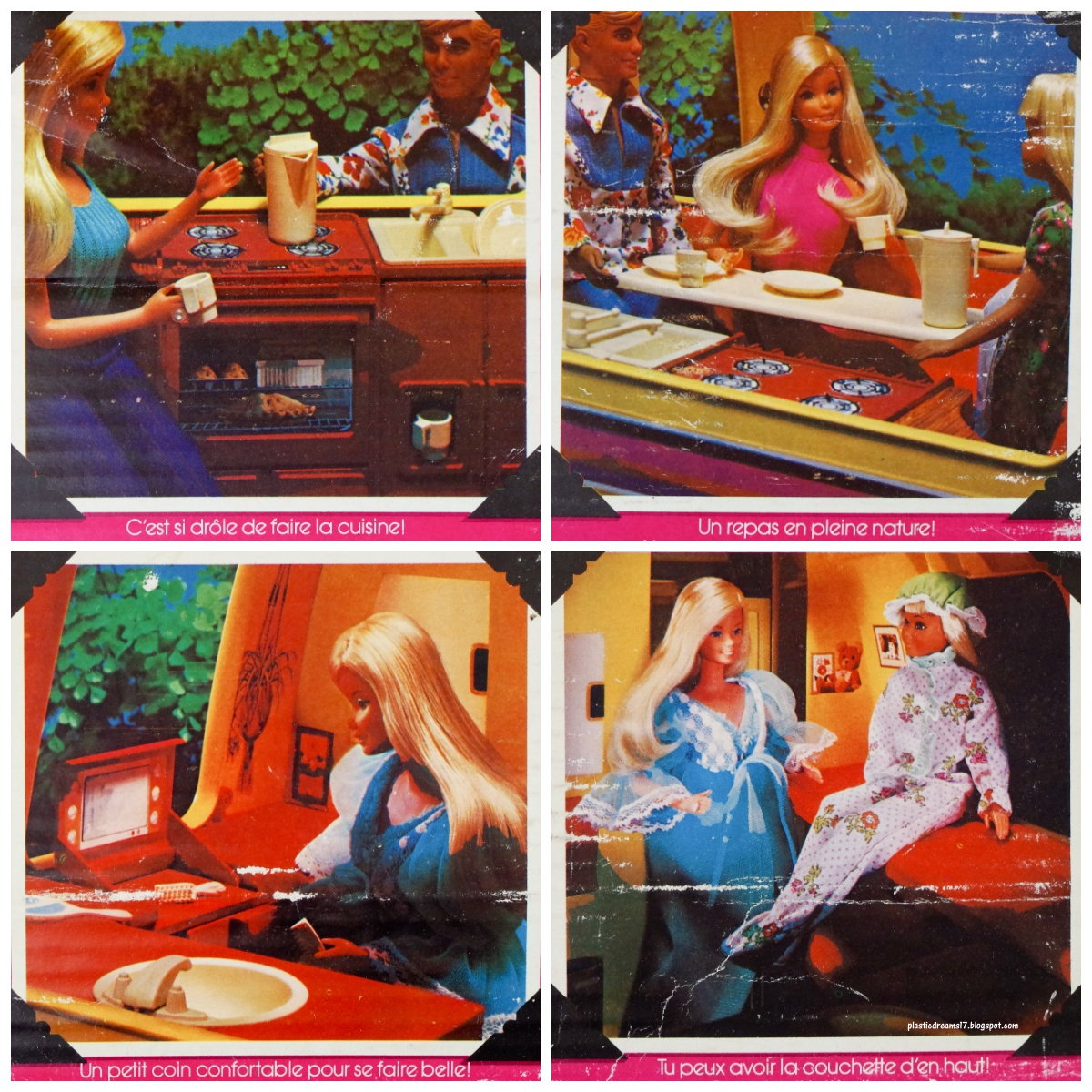camping-car barbie star traveler