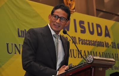 Sandiaga S. Uno merupakan salah satu Badan Pembina Harian (BPH) UMJ