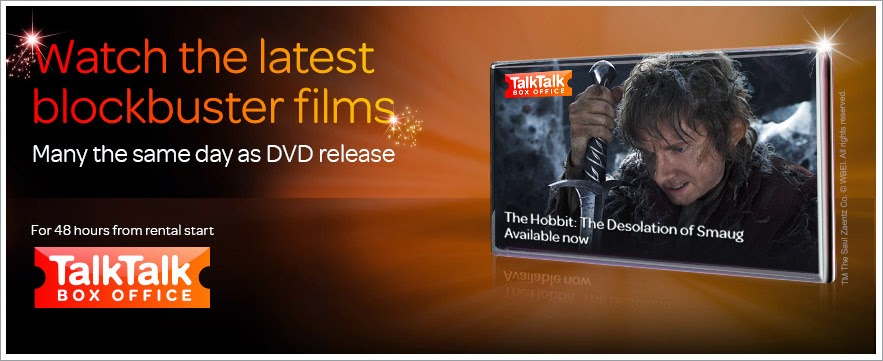 TalkTalk Box Office - The Hobbit on demand