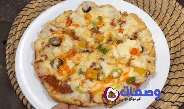 بيتزا العشر دقائق فاطمه ابو حاتي