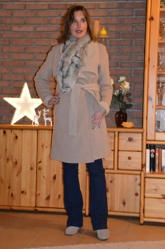 Tchibo mantel blau