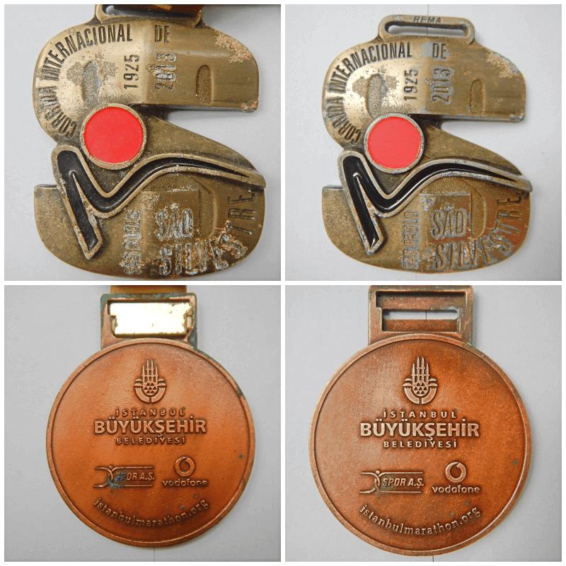 Dicas para preservar medalhas