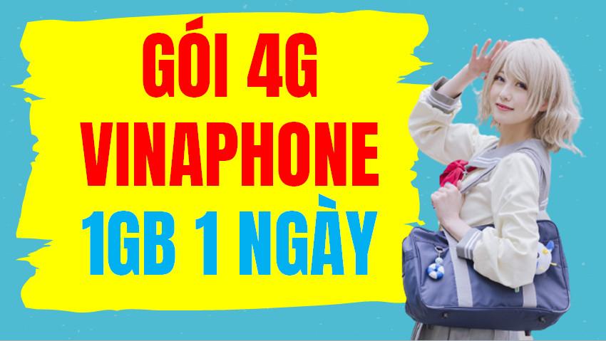 Gói 4G Vinaphone 1GB 1 ngày