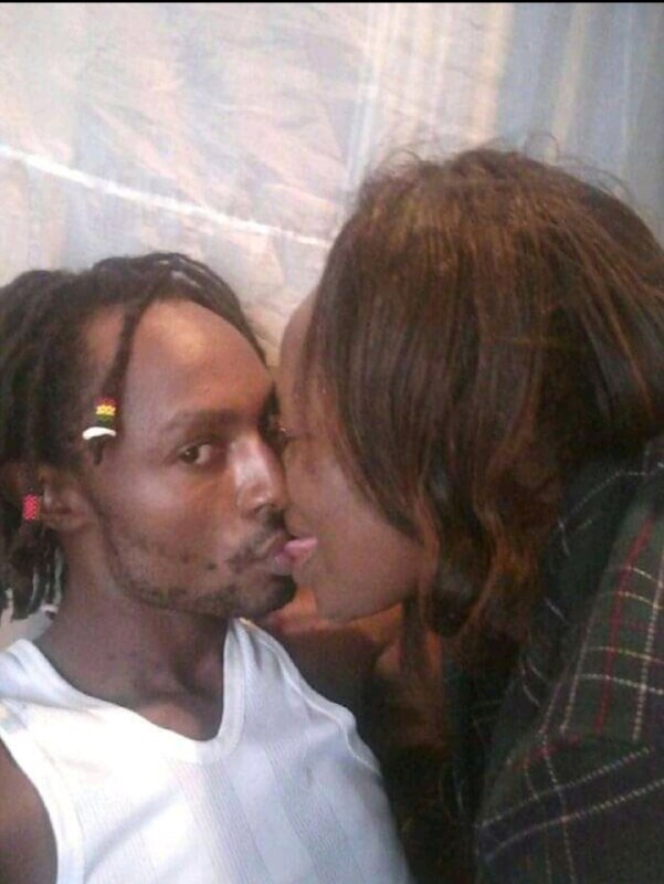 rasta%2Bbaby%2B1 - Kenyan BEN 10 splashes steamy PHOTOs with his sugar-mummy- He was licking the aging woman like a lollipop.