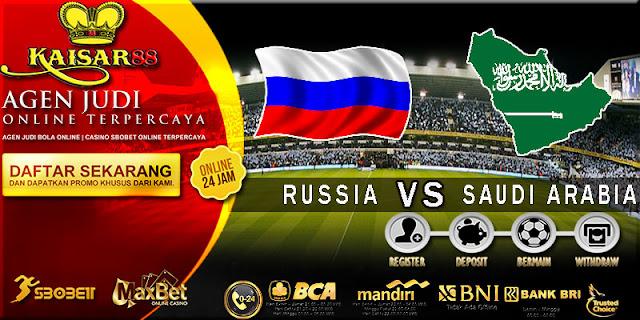 PREDIKSI TEBAK SKOR JITU WORLD CUP RUSSIA VS SAUDI ARABIA 14 JUNI 2018