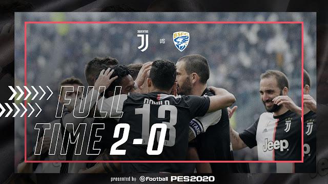 Juventus 2-0 Brescia, Paulo Dybala And Cuadrado On Target (Video Highlight)