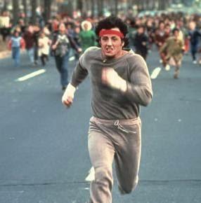 Rocky 2. futó jelenet