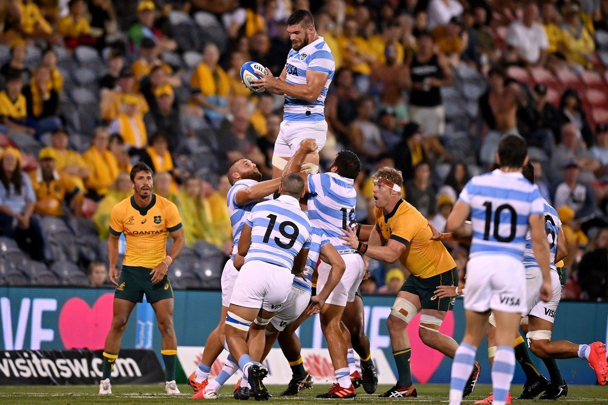 Tres Naciones Los Pumas 15-15 Australia