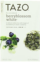 My Favorite Things List, Tazo Berryblossom White Tea, www.justteachy.com