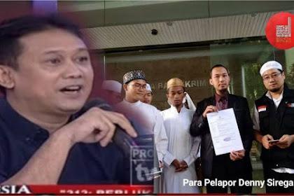 Denny Siregar Resmi Dilaporkan Ke Polisi Soal Cuitan Kalimat Tauhid