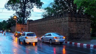 Suan Prung Gate, one of Chiang Mai's five gates