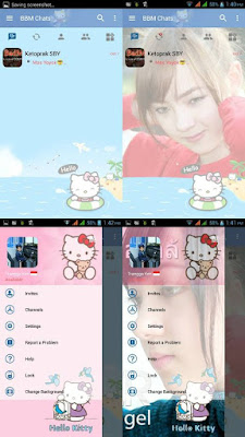 BBM Mod Pink Hello Kitty Based 3.2.0.6