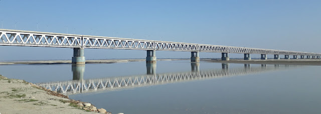 Bogibeel Bridge in India