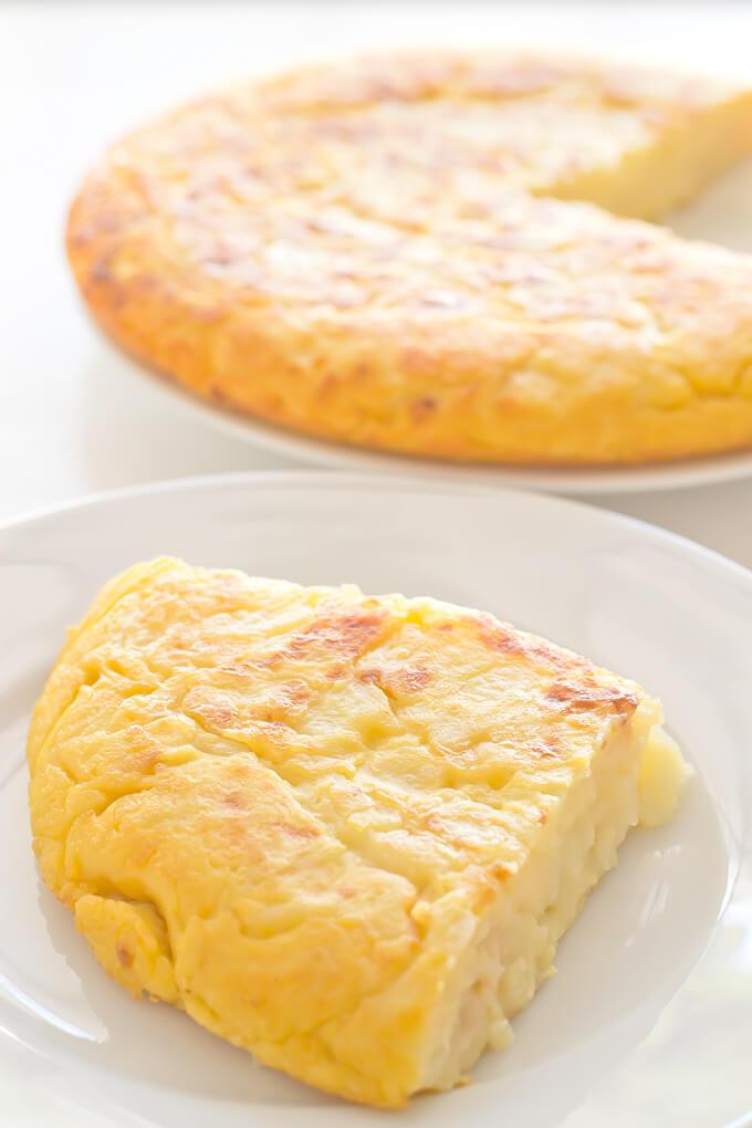 Vegan Potato Omelette Recipe | danceofstoves.com