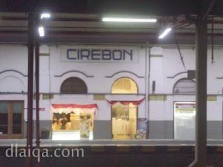 tiba di Stasiun Cirebon