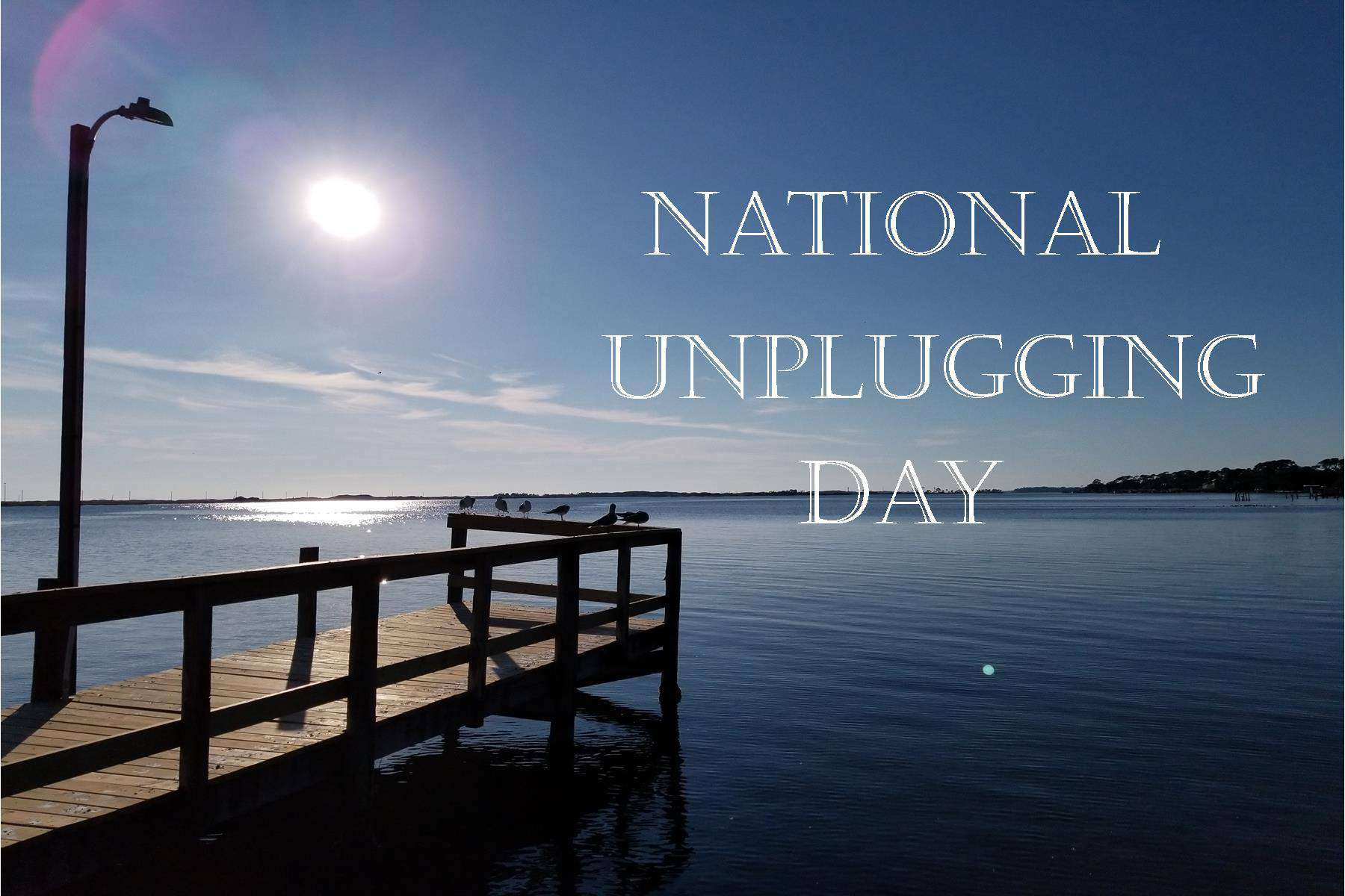 National Day of Unplugging Wishes Images