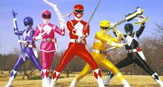Power Ranger yang pertama