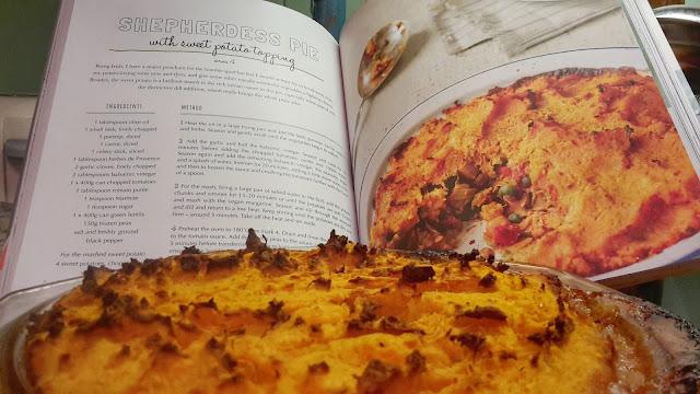 Project 365 2017 day 1 - Vegan Shepherdess Pie  // 76sunflowers