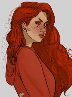 Fanart Scarlet por deanpinterester