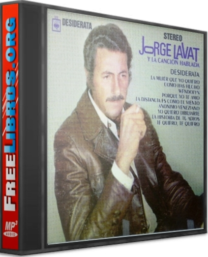 Jorge Lavat y la canción hablada [AudioLibro]