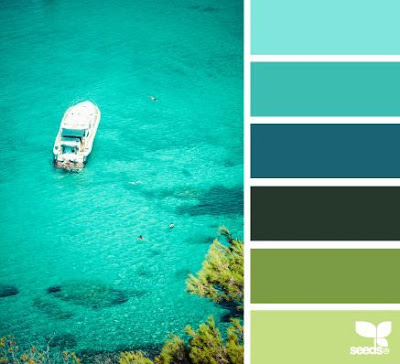 warna hijau tosca