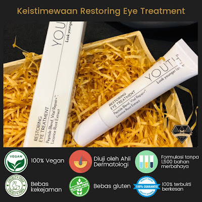 Keistimewaan Youth Restoring Eye Treatment Shaklee