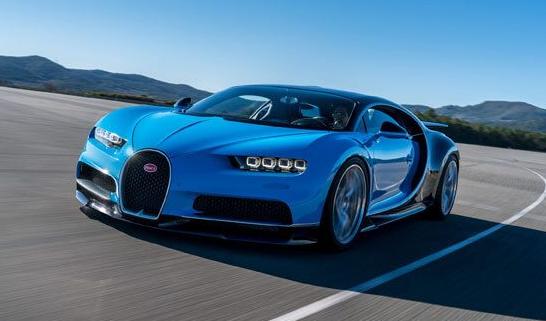 2020 Bugatti Chiron redesign