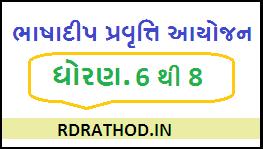 Bhashadip Activity 6 to 8