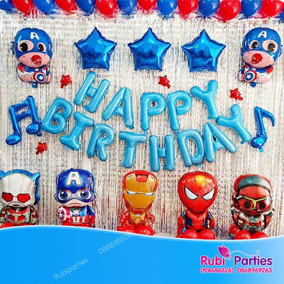 Cửa hàng bán phụ kiện trang trí sinh nhật tại Quan Hoa