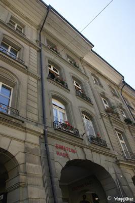 Casa in cui ha vissuto Einstein e ora adibita a Museo