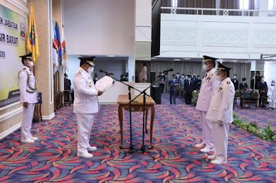 Gubernur Arinal Lantik Bupati Dan Wakil Bupati Pesisir Barat