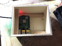 Raspberry Pi in position