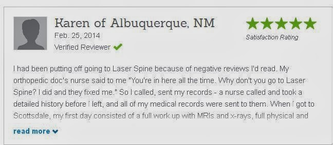 Laser Spine Institute review