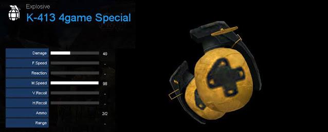 Detail Statistik K-413 4game Special