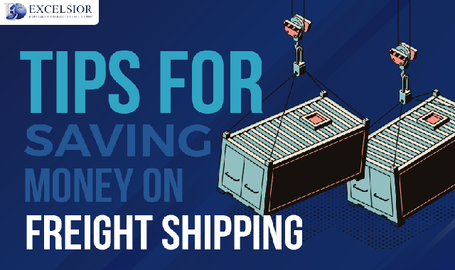 Tips for Saving Money on Freight Shipping #infographic