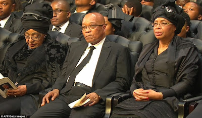 article 2524000 1A1DDB5300000578 684 964x567 Photos from Nelson Mandelas funeral